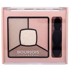 BOURJOIS Paris Smoky Stories Quad Eyeshadow Palette cienie do powiek 3,2 g dla kobiet 14 Tomber Des Nudes