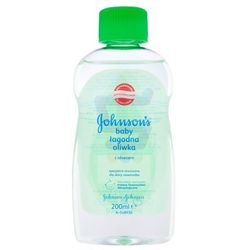 Johnson&Johnson, Johnson's Baby. Oliwka dla dzieci z aloesem, 200ml - Johnson & Johnson