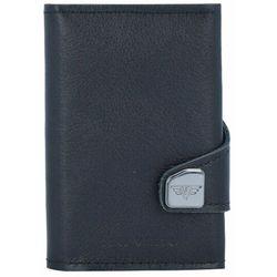 Tru Virtu Click & Slide Etui na karty bankowe Portfel RFID skórzany 6,5 cm Aluminium Core black ZAPISZ SIĘ DO NASZEGO NEWSLETTERA, A OTRZYMASZ VOUCHER Z 15% ZNIŻKĄ