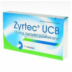 Zyrtec UCB tabl.powl. 0,01 g 7 tabl.