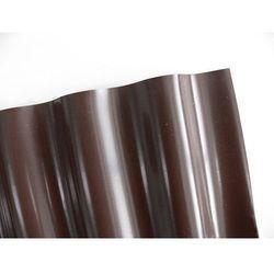 Obrzeża ogrodowe faliste – krawężnik 9x0,15m brązowy