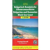 Mapy i atlasy turystyczne, Bułgaria i Rumunia Wybrzeże Morza Czarnego mapa 1:150 000 Freytag & Berndt (opr. twarda)
