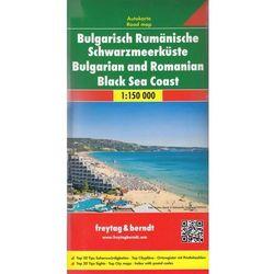 Bułgaria i Rumunia Wybrzeże Morza Czarnego mapa 1:150 000 Freytag & Berndt (opr. twarda)