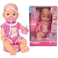 Lalki dla dzieci, Simba Lalka New Born Baby słodziutki bobas 30cm 503-0069