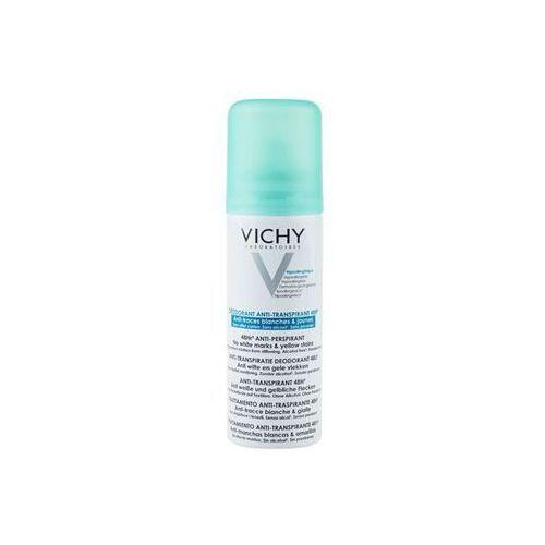 Antyperspiranty unisex, Vichy Deodorant dezodorant - antyperspirant w aerozolu przeciwko białym i żółtym śladom + do każdego zamówienia upominek.