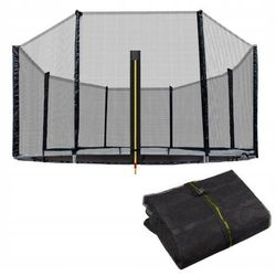 Siatka zewnętrzna do trampoliny 305 cm 10ft 6 słup