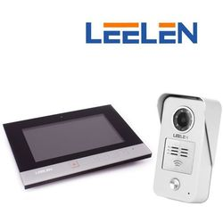 """Leelen LEELEN Wideodomofon 7"""" N75B/No15nc+3xbrelok (z czytnikiem) N75B_No15nc - Autoryzowany partner Leelen, Automatyczne rabaty."""
