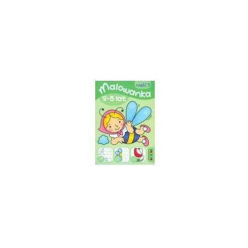 Książki dla dzieci, Malowanka 145x210 lit 3-5 lat 1 (opr. broszurowa)