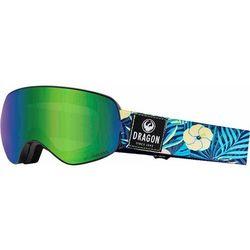 gogle snowboardowe DRAGON - Dr X2S 2 Aloha Llgreenion+Llamber (802) rozmiar: OS