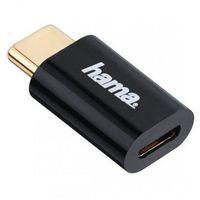 Pozostałe akcesoria do TV, Adapter HAMA Micro USB - USB Typu C