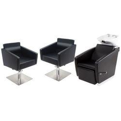 Zestaw Mebli Fryzjerskich - Myjnia Vasto + 2 x Fotel Siena