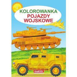 Kolorowanka, Pojazdy wojskowe - Jarosław Żukowski (opr. miękka)