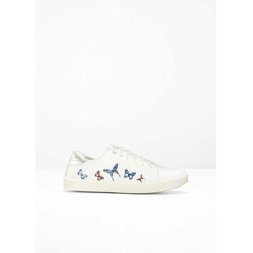 Pozostałe obuwie dziecięce, Sneakersy bonprix biały