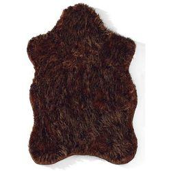 Sztuczna owcza skóra bonprix brązowy