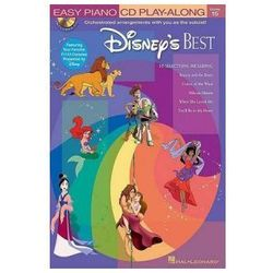 Easy Piano CD Play Along Vol. 15: Disney's Best (+ płyta CD) - nuty na fortepian