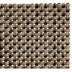 Etui na sztućce | zestaw 6 sztuk | brązowe | 240x90mm