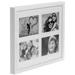 Galeria na zdjęcia Simple 4 x (10 x 15 cm) biała