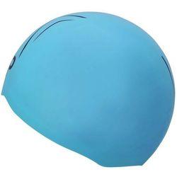 MP MICHAEL PHELPS CZEPEK STARTOWY X-O CAP BRIGHT BLUE-BLACK, KOLOR: BLUE, MATERIAŁ: SILIKON, ROZMIAR: S