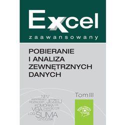 Excel zaawansowany - pobieranie i analiza zewnętrznych danych - Marcin Szeliga