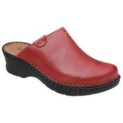 Buty Klapki JOSEF SEIBEL 56520 Catalonia Czerwone - Czerwony