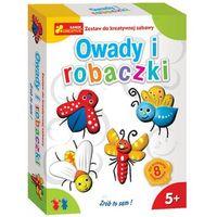Kreatywne dla dzieci, Zestaw do kreatywnej zabawy - Owady i robaczki