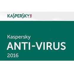 Oprogramowanie antywirusowe Kaspersky Anti-Virus 2015 Pl 5D2Y produkt cyfrowy ESD - KL1161PCEDS- Zamów do 16:00, wysyłka kurierem tego samego dnia!