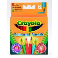 Kredki, Crayola, Core, Kredki ołówkowe, 12 szt.