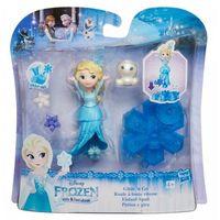 Figurki i postacie, Hasbro Frozen Mini laleczki na łyżwach, Elsa