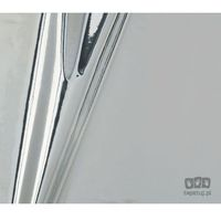 Pozostałe akcesoria meblowe, Okleina meblowa metaliczna srebrna 45cm 201-4527