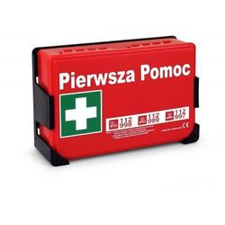 """Apteczka pierwszej pomocy """"LUKSELL 2"""" DIN 13157 w pudełku z tworzywa"""
