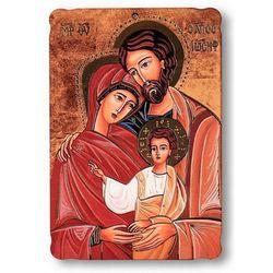 Pamiątka ślubna – obrazek religijny na desce