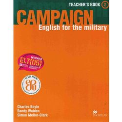 Campaign 2 Teacher's Book (opr. miękka)