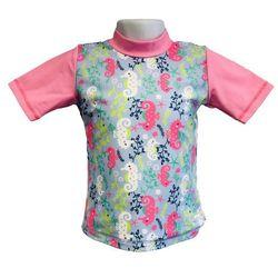 Koszulka kąpielowa bluzka dzieci 120cm filtrem UV50+ - Sea Horse \ 120cm
