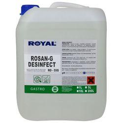 Płyn do dezynfekcji urządzeń w gastronomii Rosan G Desinfect 5 l