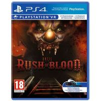 Gry na PS4, Until Dawn Rush of Blood VR (PS4)