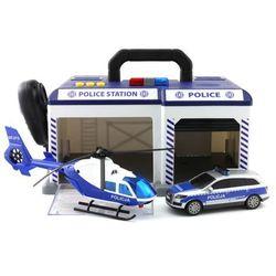 Dickie Toys Policja Baza SOS policyjna w walizce