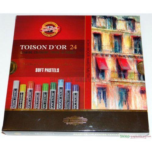 Kredki, Kredki Pastele suche Toison D'or 24 kolory