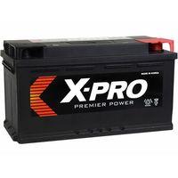 Akumulatory samochodowe, Akumulator X-PRO 100Ah 850A EN wysoki Prawy Plus