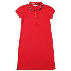 TOMMY HILFIGER Sukienka 'Essential Polo' czerwony