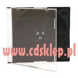 Pudełko plastikowe slim czarny tray High Quality 42g. 100szt.