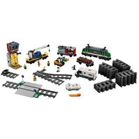 Klocki dla dzieci, 60198 POCIĄG TOWAROWY ( Cargo Train) KLOCKI LEGO CITY