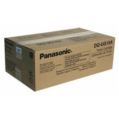 Akcesoria do kserokopiarek, Panasonic oryginalny toner DQ-UG15PU, black, 5000s, Panasonic DP-150, 150FP