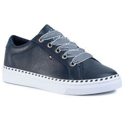Sneakersy TOMMY HILFIGER - Nautical Lace Up Sneaker FW0FW04689 Desert Sky DW5