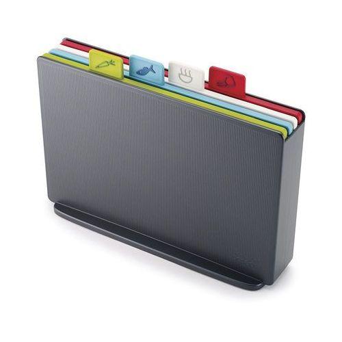 Deski kuchenne, JJ - Zestaw 4 desek, grafitowy, Index™ Regular