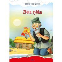 Książki dla dzieci, Złota rybka, Baśnie braci Grimm - Jakub Grimm (opr. twarda)