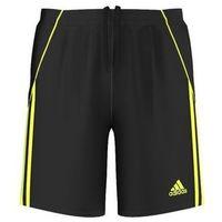 Odzież do sportów drużynowych, Spodenki adidas Pepa Junior D87401 czarny