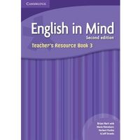 Książki do nauki języka, English In Mind 3 Second Edition Teacher's Resource Book (opr. miękka)