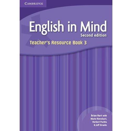 Książki do nauki języka, English In Mind 3 Second Edition Teacher's Resource Book (opr. miękka)