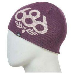 czapka zimowa 686 - Glow Reversible Beanie Dusty Pink (DSPK)