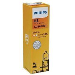 Żarówka samochodowa Philips VISION 12336PRC1 H3 PK22s/55W/12V